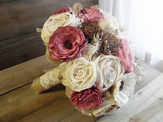 Ready to Ship Large Rustic Bridal Sola by RusticSweethearts