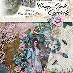 Crazy Quilt Quarterly Magazine Spring 2016 by Kitty And Me