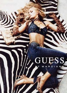 Guess by Marciano Claudia Schiffer, Guess Ads, Super Skinny Jean, Guess Clothing, Guess Models, Guess Girl, Mode Jeans, Flare, Fashion Clothes