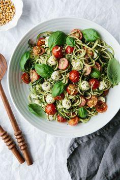 Zucchini noodle capr