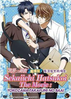 DVD ANIME Sekaiichi Hatsukoi The Movie Yokozawa Takafumi No Baai English Sub