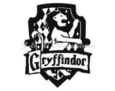 Vinyl Decal Sticker - Gryffindor House decal inspired by Harry Potter for Windows, Cars, Laptops, Macbook etc Harry Potter Stencils, Harry Potter Decal, Theme Harry Potter, Harry Potter Room, Harry Potter Houses, Harry Potter Hogwarts, Hogwarts Houses, Art Clipart, Vector Art