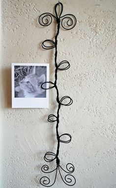 Wire card or photo holder- great inspiration to make one if you dont want to buy it.