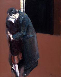 The Kiss - 130 x 100 sm, oil, canvas, 2004