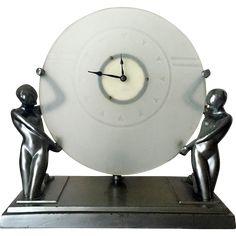 Frankart Art Deco Clock