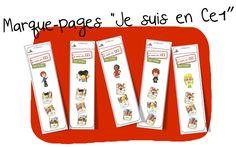 Marque-pages Rallye-lecture » Je suis en CE1 « | Bout de Gomme