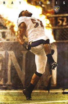 Ray Lewis - Baltimore Ravens Posters from AllPosters.com
