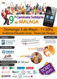 Caminata solidaria Málaga