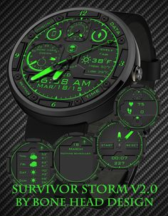 Survivor Storm V2.0 by Bone Head Design