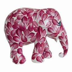 Elephant Parade | 10 cm Beauty in Pink | Elephant Conservation | Collectible | Hand Painted | Spring | www.homearama.co.uk