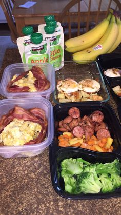 Lunch Meal Prep, Easy Meal Prep, Healthy Meal Prep, Healthy Eating, Healthy Food, Clean Recipes, Easy Healthy Recipes, Clean Eating Meal Plan, Food Crush