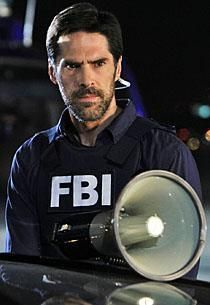 Aaron Hotchner played by Thomas Gibson of Criminal Minds. Also a hunk!