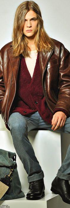 Trussardi Fall 2015 RTW Menswear