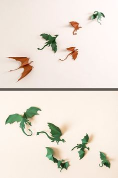 Game+of+Thrones+inspired+3D+Dragon+Wall+Art:+by+hipandclavicle