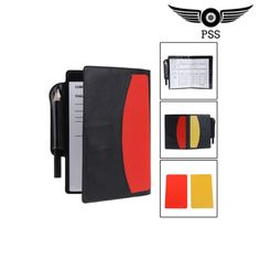 Wallet Notebook with Red Card and Yellow Card Soccer Supplies Soccer Referee, Soccer Pro, Soccer Goalie, Soccer Tips, Sport Football, Soccer Players, Soccer Cleats, Soccer Sports, Nike Soccer