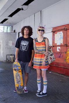 Tel Aviv fashion- love them!