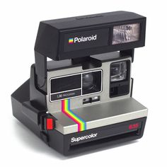 Polaroid Supercolor 635 LM Program 600 Instant Film CAMERA Point And Shoot EXC