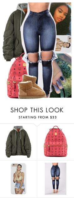 """""""aint too hard - kevin gates"""" by theyknowtyy ❤ liked on Polyvore featuring MCM and UGG Australia"""