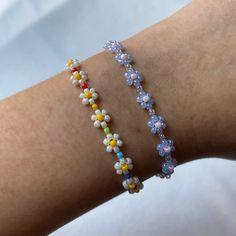 Handmade Wire Jewelry, Diy Crafts Jewelry, Cute Jewelry, Old Jewelry, Jewelery, Bead Jewellery, Beaded Jewelry, Beaded Bracelets, Beaded Rings