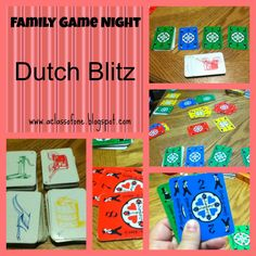 Fast and furious card game for Family Game Night
