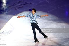 Nathan Chen of the USA performs during the Gala Exhibition on Day 5 of the ISU World Junior Figure Skating Championships at Tondiraba Ice Arena on March 8, 2015 in Tallinn, Estonia.