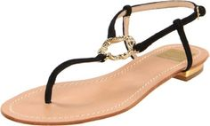 The Banks sandals from dolce vita give you a fashionable yet simplistic look.Suede upper in a thong sandal style with a round, open toeRolled toe thong postGeometric metal detail at the vampAdjustable ankle strap ensures a great fitLeather lining, cushioning insoleLeather outsole, flat heel http://www.amazon.com/dp/B005UUJGFU/?tag=icypnt-20