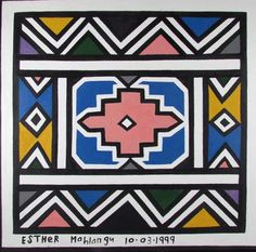 . Graphic Patterns, Print Patterns, Geometric Painting, Abstract, Africa Symbol, Tribal Pattern Art, Iris Drawing, South Africa Art, African Tattoo
