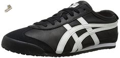 Onitsuka Tiger Mexico 66 Fashion Sneaker, Black/White, 12 M Men's US/13.5 Women's M US - Onitsuka tiger sneakers for women (*Amazon Partner-Link)