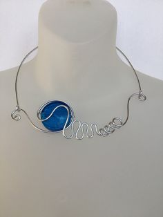 Your place to buy and sell all things handmade Bridesmaid Jewelry, Wedding Jewelry, Bridesmaids, Modern Jewelry, Unique Jewelry, Wire Necklace, Necklaces, Yellow Jewelry, Wire Wrapped Bracelet