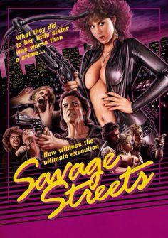 Linda Blair in Savage Streets.