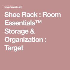 Shoe Rack : Room Essentials™ Storage & Organization : Target
