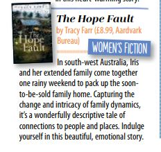 The Hope Fault is a novel by Australian author Tracy Farr that celebrates the everyday complexities of family, extended family, exes and fairy godmothers. Australian Authors, Extended Family, Fairy Godmother, Fiction, Novels, Magazine, Beautiful, Magazines, Romance Novels