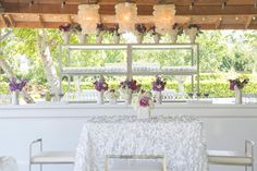 La Tavola Fine Linen Rental: Brooklyn White over Nuovo White | Photography: Allyson Wiley Photography, Event Design: A Savvy Event- Kelly McLeskey-Dolata, Florist: Vanda Floral Design