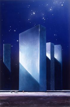 Triple Towers by John Harris