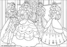 Beautiful Barbie Three Musketeers Pages - Friv Free Coloring Pages ... | 168x236