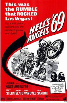 Violencia en Las Vegas (Hell's Angels '69) 1969 Dos hermanos planean robar el Caesars Palace de Las Vegas y piden la ayuda de los Hell's Angels. Estos, una vez engañados inician la persecución por el desierto de Nevada para darles captura