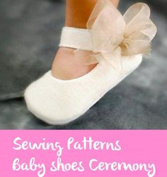 baby shoesbaby shoes for girls / christening by BabyShoesShop