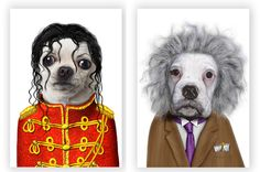 Dogs dressed up like people | series of photos featuring pets tussled, styled and pampered like ...