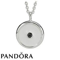 Pandora White Promises Necklace 80523 #jewellerydesign