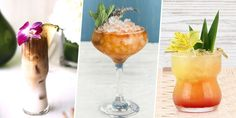 Let happy hour be every hour with these warm-weather concoctions.