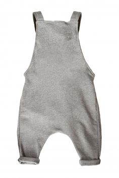 Love These Little Over All Rompers For Babies! Gray Label. .