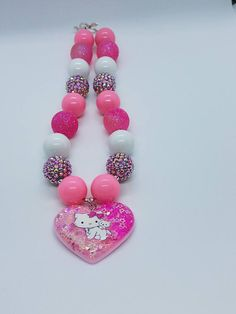 Check out this item in my Etsy shop https://www.etsy.com/listing/521359612/hello-kitty-inspired-chunky-necklace