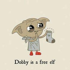 I love dobby , #cartoonmemesfood #Dobby #love -