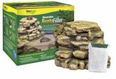 Amazon.com: Tetra 25905 River Rock Decorative Reptile Filter for Aquariums up to 55 Gallons: Pet Supplies