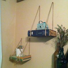 Great shelf idea Tiffany!