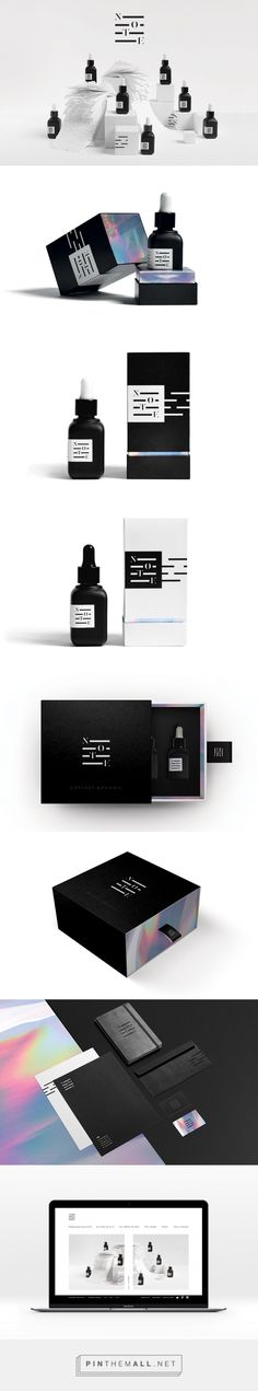 NOTE Aromatherapy Branding and Packaging by Sophie Pulat | Fivestar Branding Agency – Design and Branding Agency & Curated Inspiration Gallery