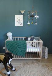 17 Babyzimmer blau grau