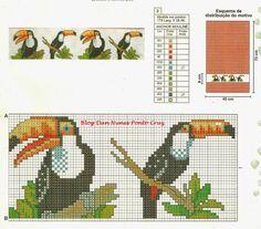 Cross Stitch Bird, Cross Stitching, Cross Stitch Patterns, Knitting Charts, Diy Clothes, Pixel Art, Nerdy, Needlework, Kids Rugs