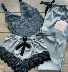 Boho Shorts, Baby Dolls, Pajamas, Satin, Accessories, Women, Fashion, Pjs, Moda