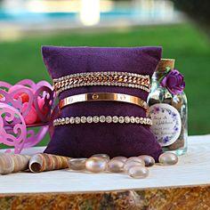 Dainty Bracelets, Stackable Bracelets, Gold Bracelet For Women, Custom Jewelry Design, Bracelet Set, Rose Gold Plates, 925 Silver, Minimalist, Jewels